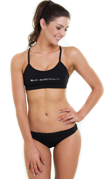 Back in Black Training Bikini Slix Australia