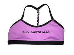 Beauty and the Beat - Double Take/Rev I-Back Separate - Slix Australia Training Swimwear, Girls Swimwear, Chlorine Resistant, Training Bikini, Swimming