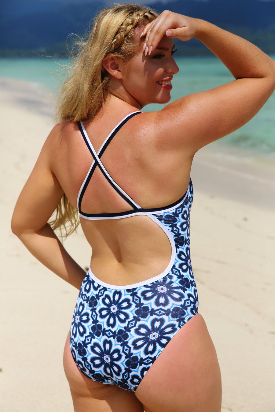 Sea Tide Straight One Piece