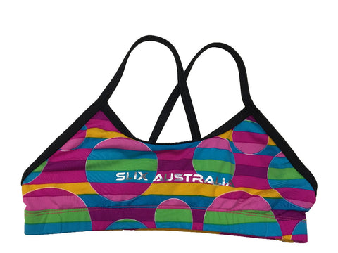 Candy Land - Regular Training Bikini Top - Black Straps - COSTUME OF THE DAY