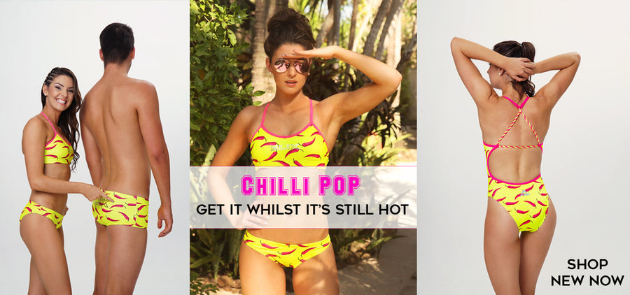 Chilli Pop Classic Training Bikini - COSTUME OF THE DAY