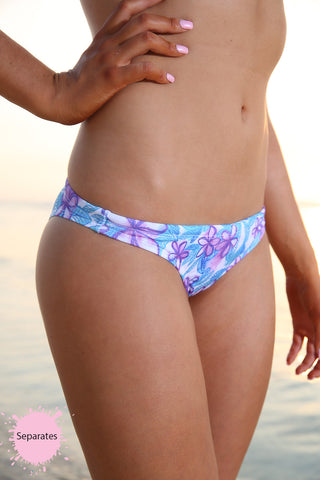 Pretty Petal - NEW 'Cheeky' Brief - Slix Australia Training Swimwear, Girls Swimwear, Chlorine Resistant, Training Bikini, Swimming