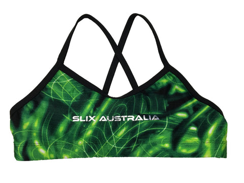 Green Viper - Regular Training Bikini Top - COSTUME OF THE DAY