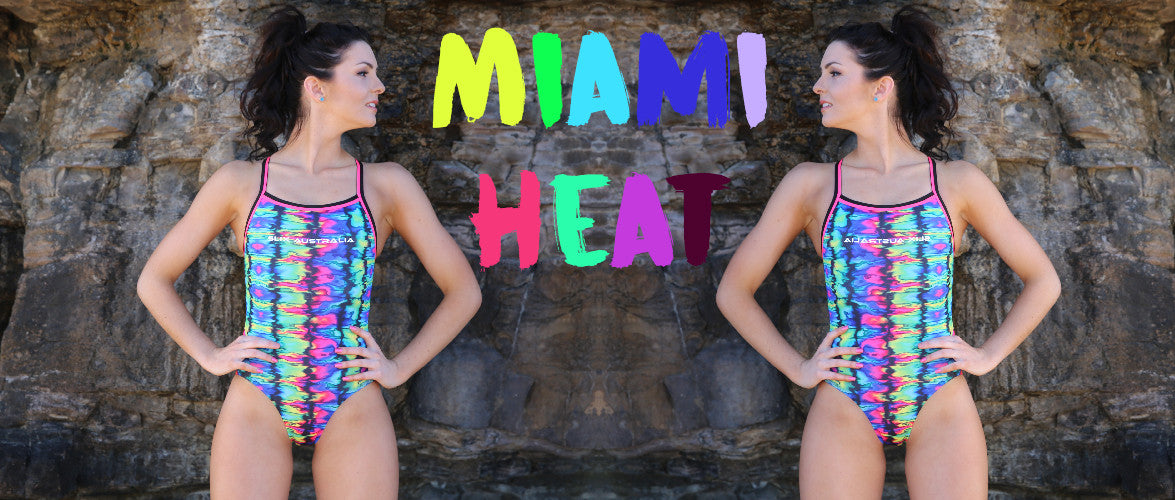 Miami Heat One Piece - Curve