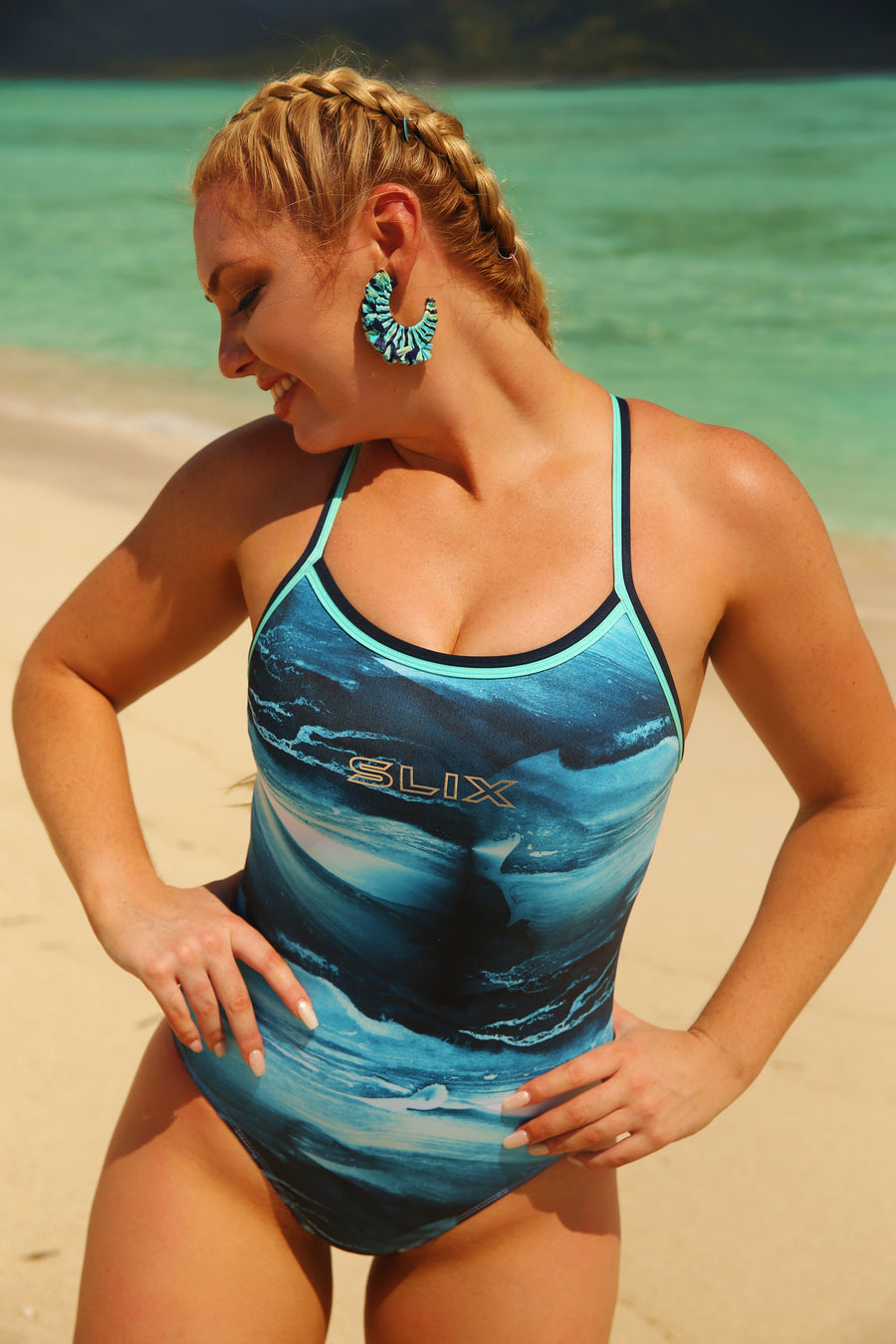 Surf Swell Straight One Piece