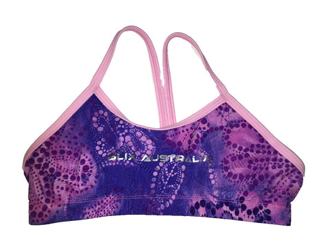 Purple Daze Regular Training Bikini Top - COSTUME OF THE DAY