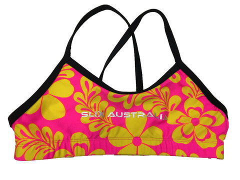 Hawaii Pink - Regular Training Bikini Top - COSTUME OF THE DAY