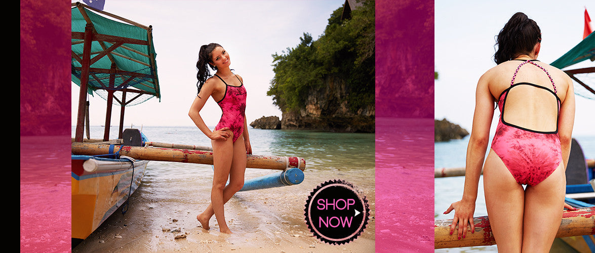 *Sherbet One Piece - Arrow Back -COSTUME OF THE DAY