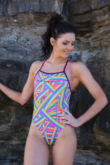 Rainbow Brite - Curve Seam One Piece - Costume of the day