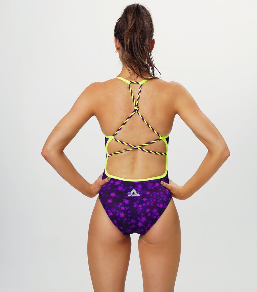 SuperStar Purple Straight One Piece Slix Australia