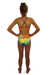 Tahitian Breeze - Curve One Piece