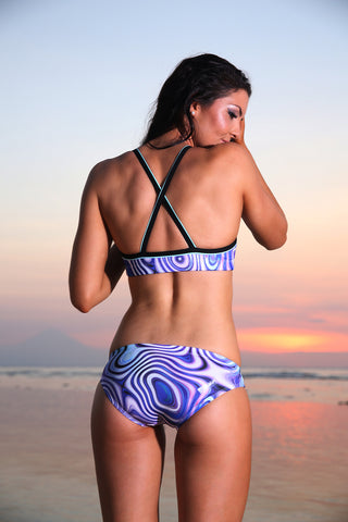 Elixir- Ladies Training Bikini - Slix Australia Training Swimwear, Girls Swimwear, Chlorine Resistant, Training Bikini, Swimming