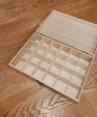 Timber loose parts sorting box | empty/fill with your own treasure