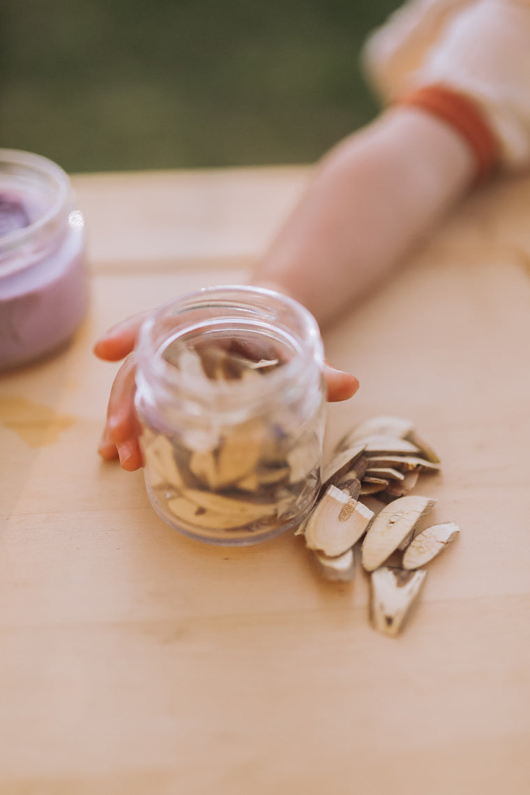 ❀ Dried wood chips | loose parts play ❀❀❀