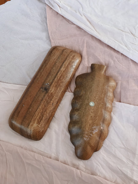 ♡ WARES | Timber palm and platter duo
