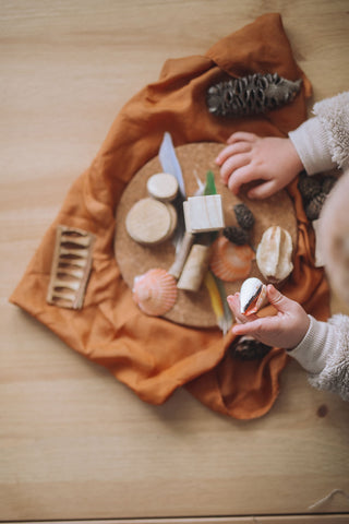 ❀ Loose parts play kit | big parts - ages 1+