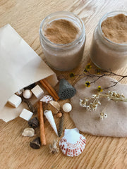 ❁ Natural playdough sensory kit | cinnamon dreams