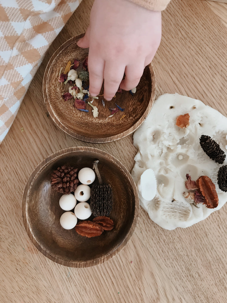 Nesting bowls | loose parts play