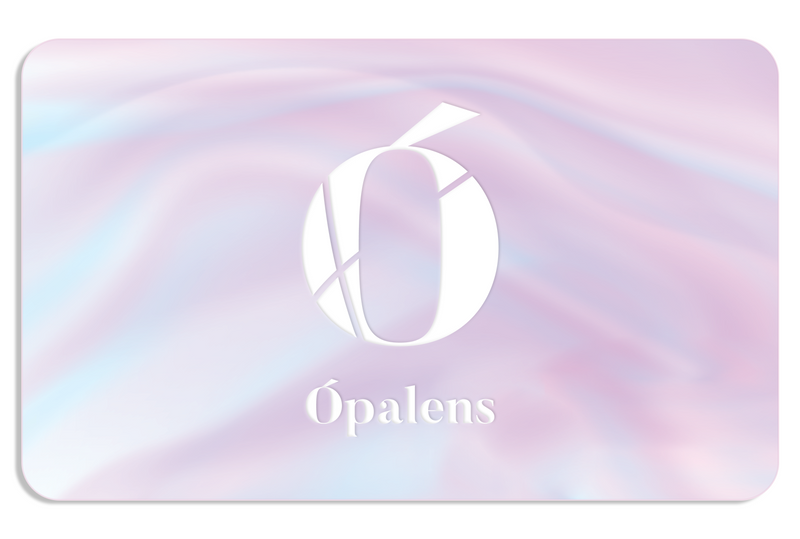 Ópalens Beauty Gift Card for luminous skin care