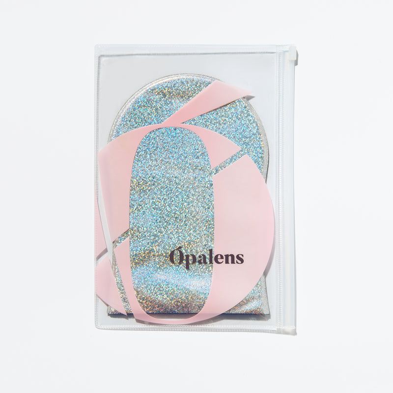 Ópalens tanning application mitt and travel bag