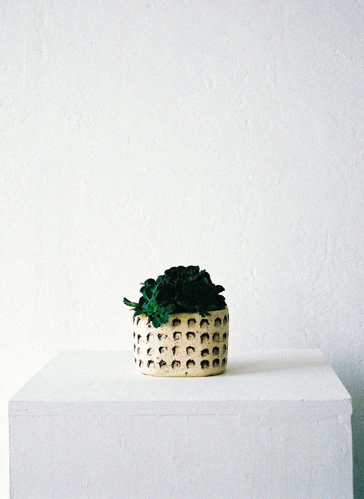 Square Patterned Planter