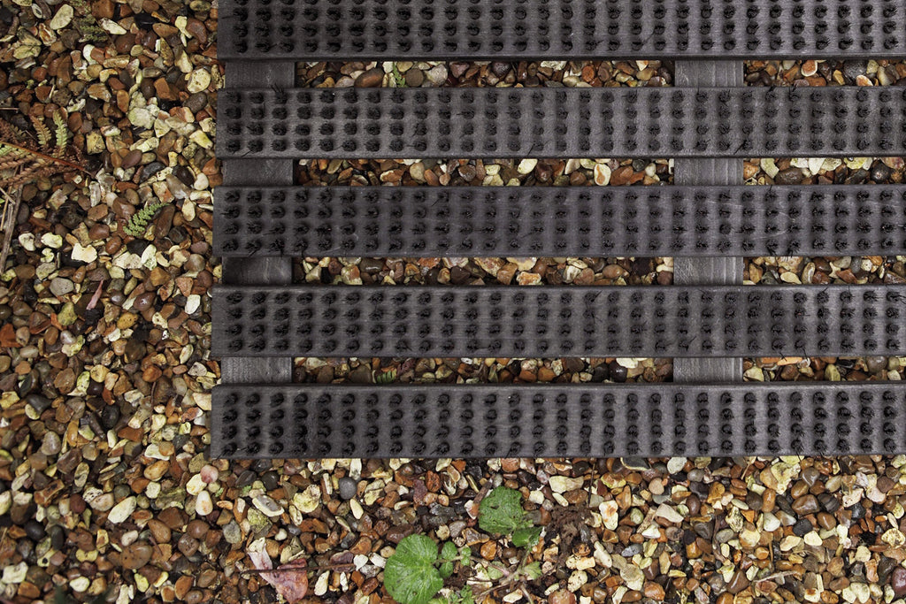 Birch Doormat in Black