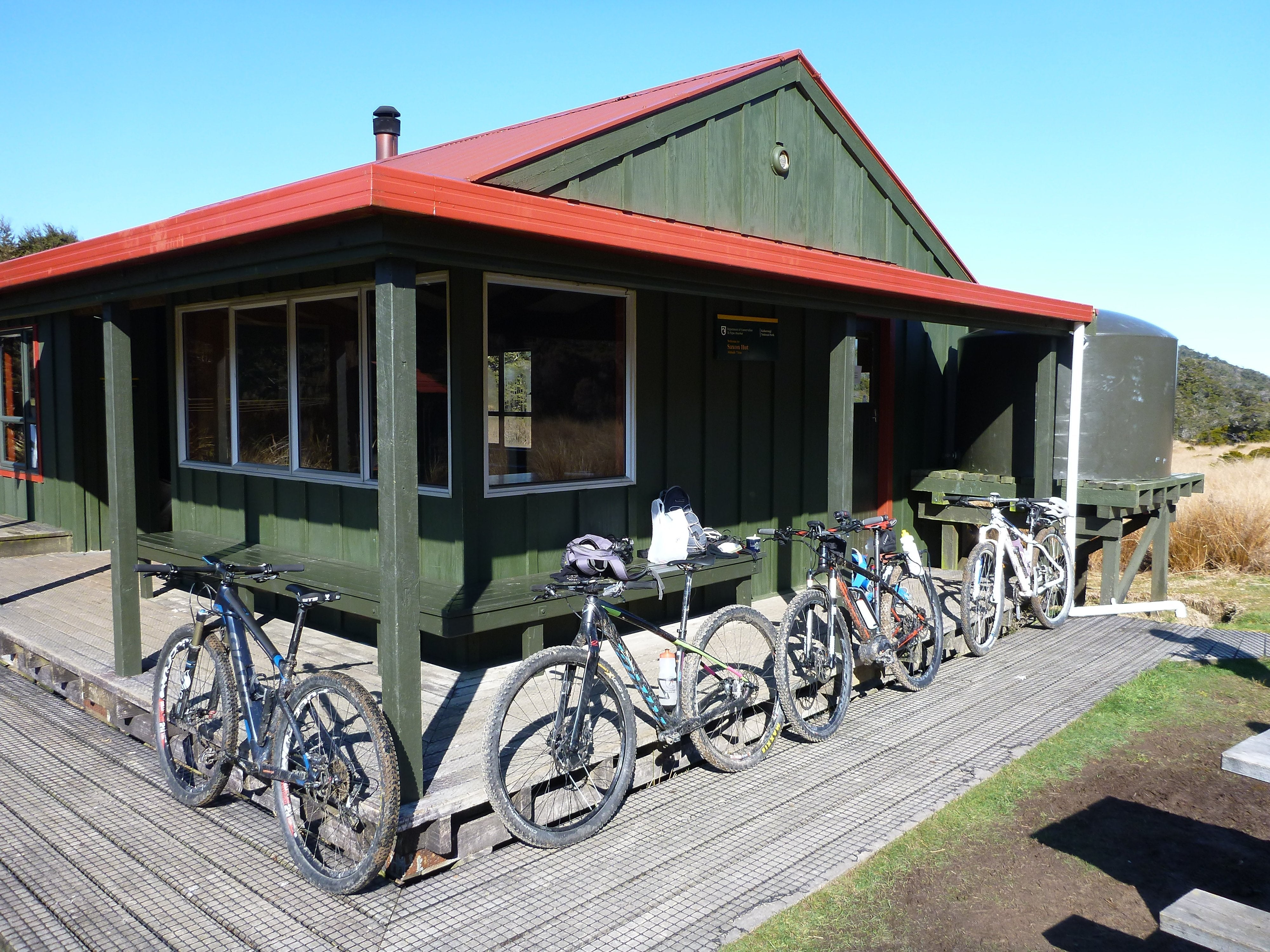 Mountain Biking the Heaphy Track NZ