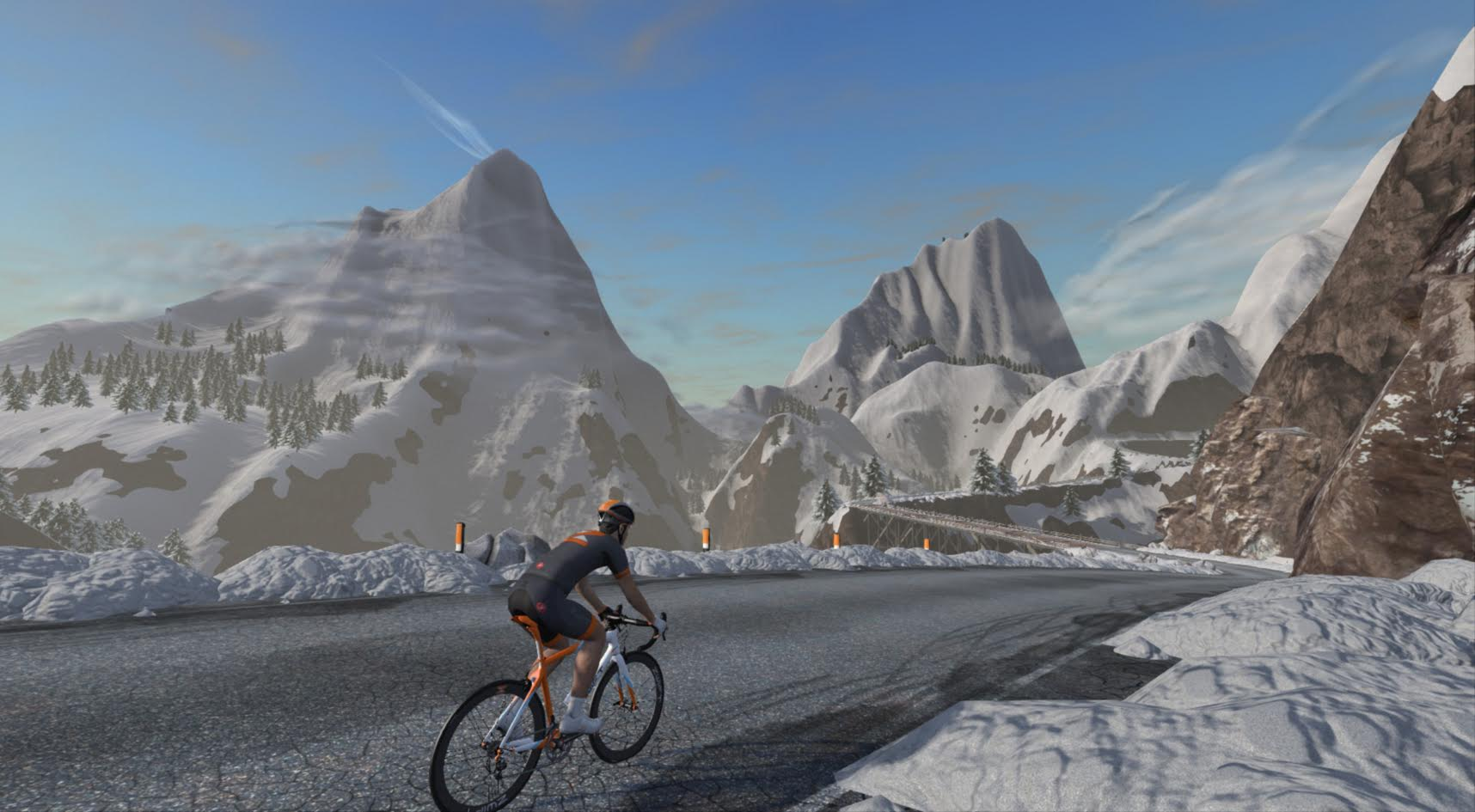 vEveresting on Zwift