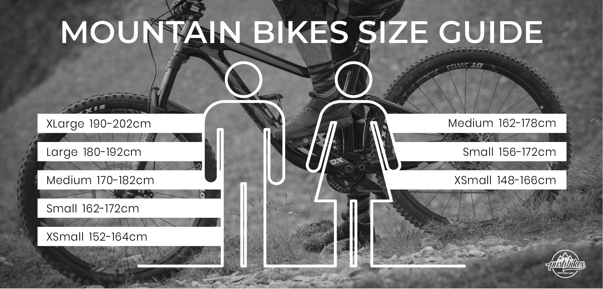 Mountain Bike Sizing Guide