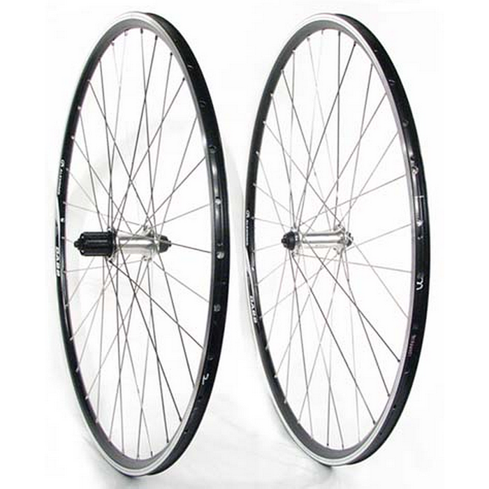 Ontrack 700c Road Wheel Front Alex Race 28 Black-WHA81-Pushbikes