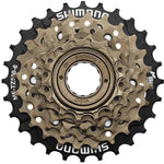 Shimano MF-TZ500 6 Speed Freewheel-14-28-EMFTZ5006428-Pushbikes