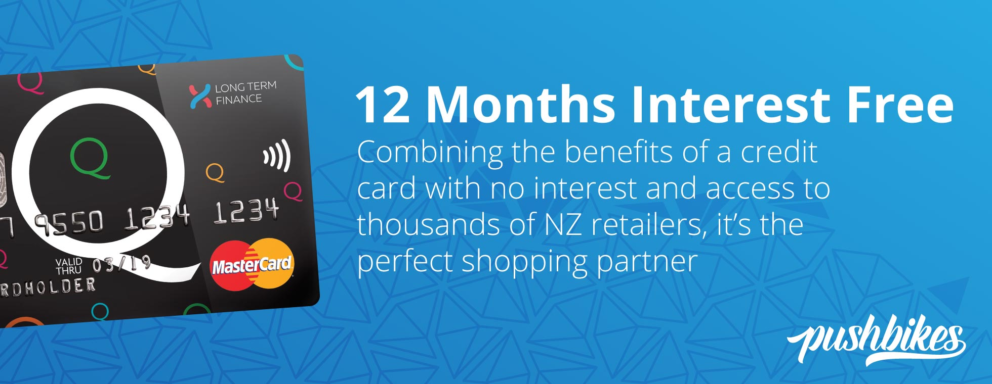 Interest Free for 12 Months