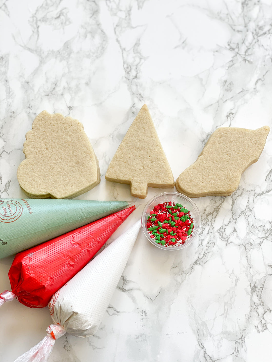 Cookie decorating kit