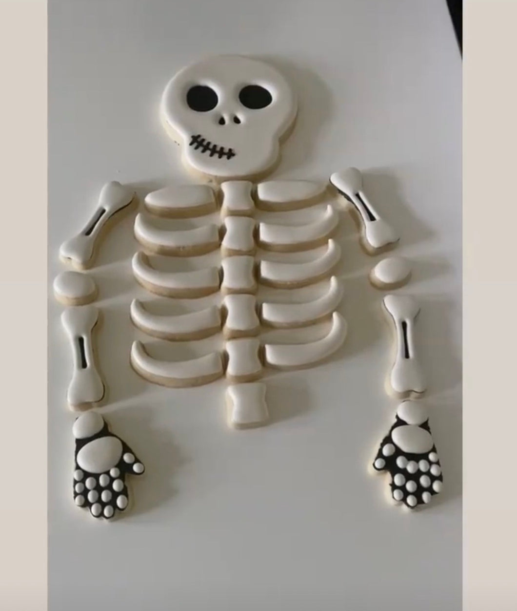 1/2 skeleton party platter