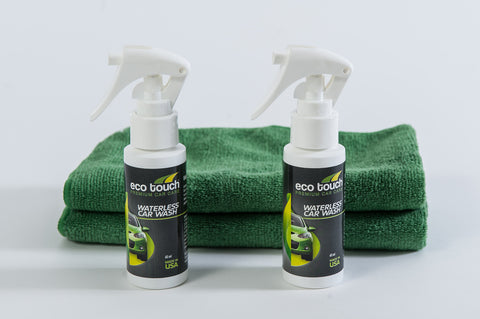 Waterless Car Wash Sample Kit