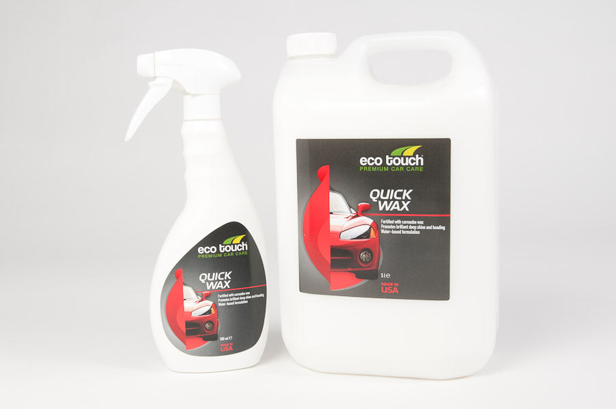 Quick Wax - Eco Touch UK | Eco-friendly | Waterless | Car Care