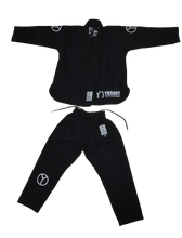 Load image into Gallery viewer, Kids Comp Black Jiu Jitsu Gi - Yroshy Fightwear