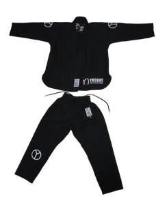 Kids Comp Black Jiu Jitsu Gi - Yroshy Fightwear