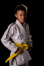 Load image into Gallery viewer, Kids Classic White Jiu Jitsu Gi - Yroshy Fightwear