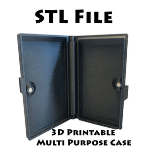 3D Print Files for Multipurpose Magnetic Hinged Case