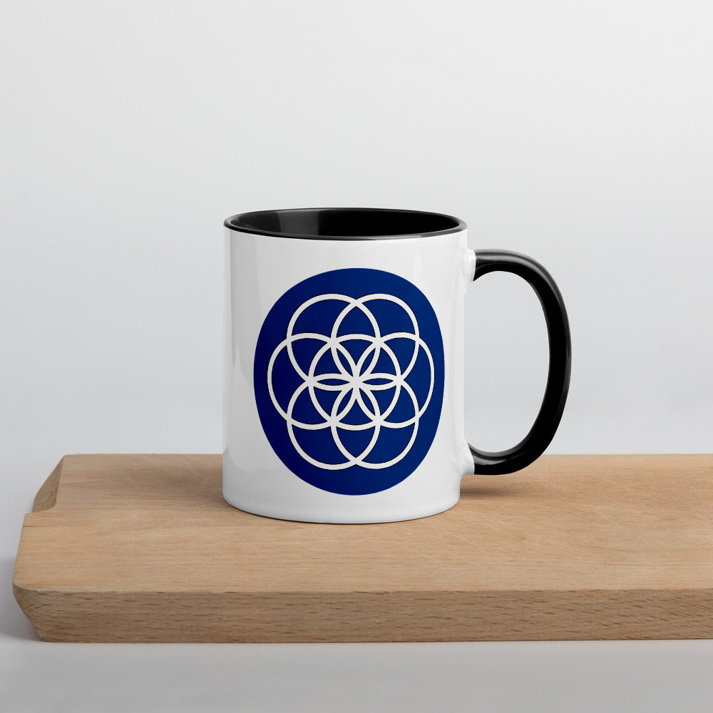 Planet Earth Flag Mug with Color Inside
