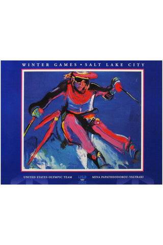 2002 Winter Games Skier