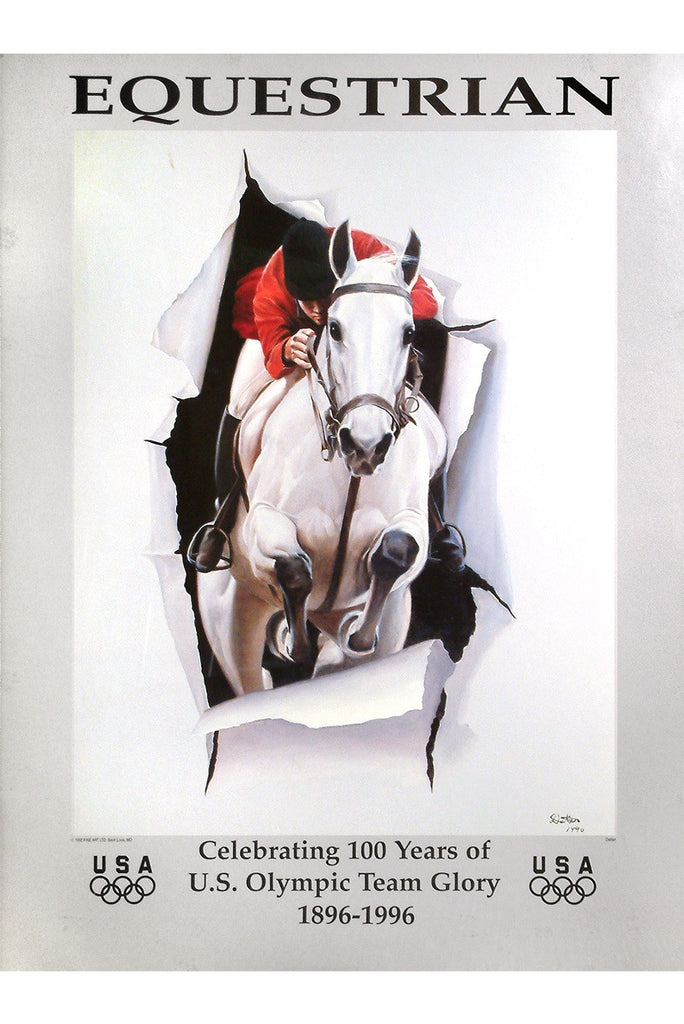 Equestrian 100 years of Olympics