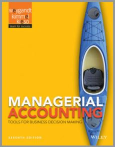 Managerial Accounting: Tools for Business
