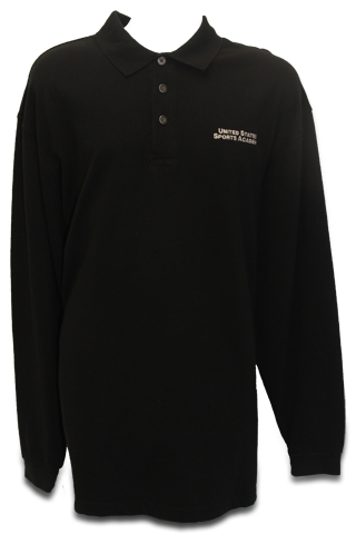 Men's Solids Polo  Long Sleeve