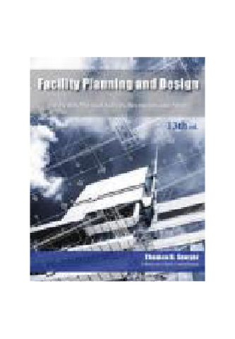 Facility Planning and Design for Health, Physical Activity, Recreation, and Sport