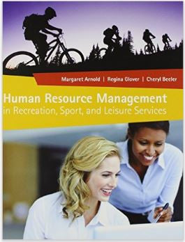 Human Resource Management in Recreation Sport & Leisure Services