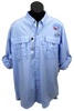 Columbia Sail Blue USSA long sleeve shirts