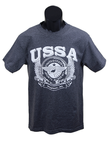 Grey Short Sleeve USSA T-shirt