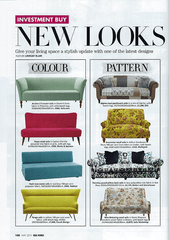 Tango sofa in Real Homes Magazine May